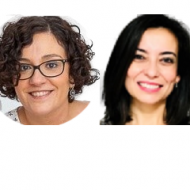 Laura Galán y Elena Serrano